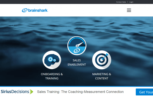 Brainshark Sales Enablement & Training Solutions